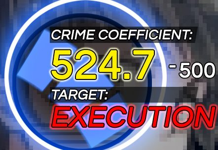 Crime Coefficient