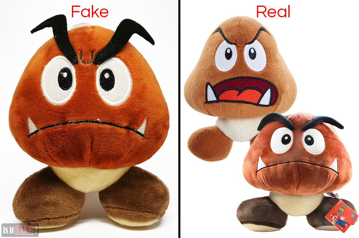 Nintendo Goomba Toys N Joys : Is it fake plushie super mario bros goomba china