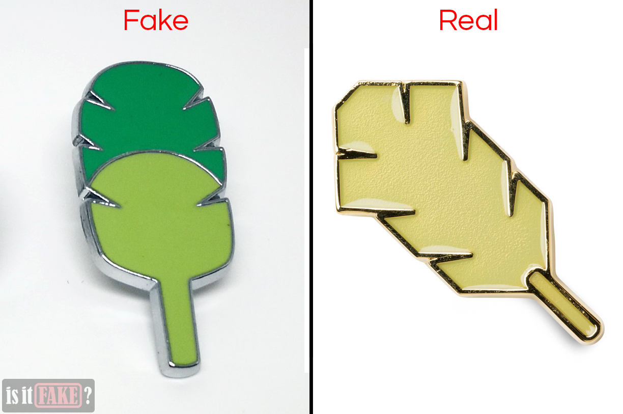 Fake vs. official Earth Badges