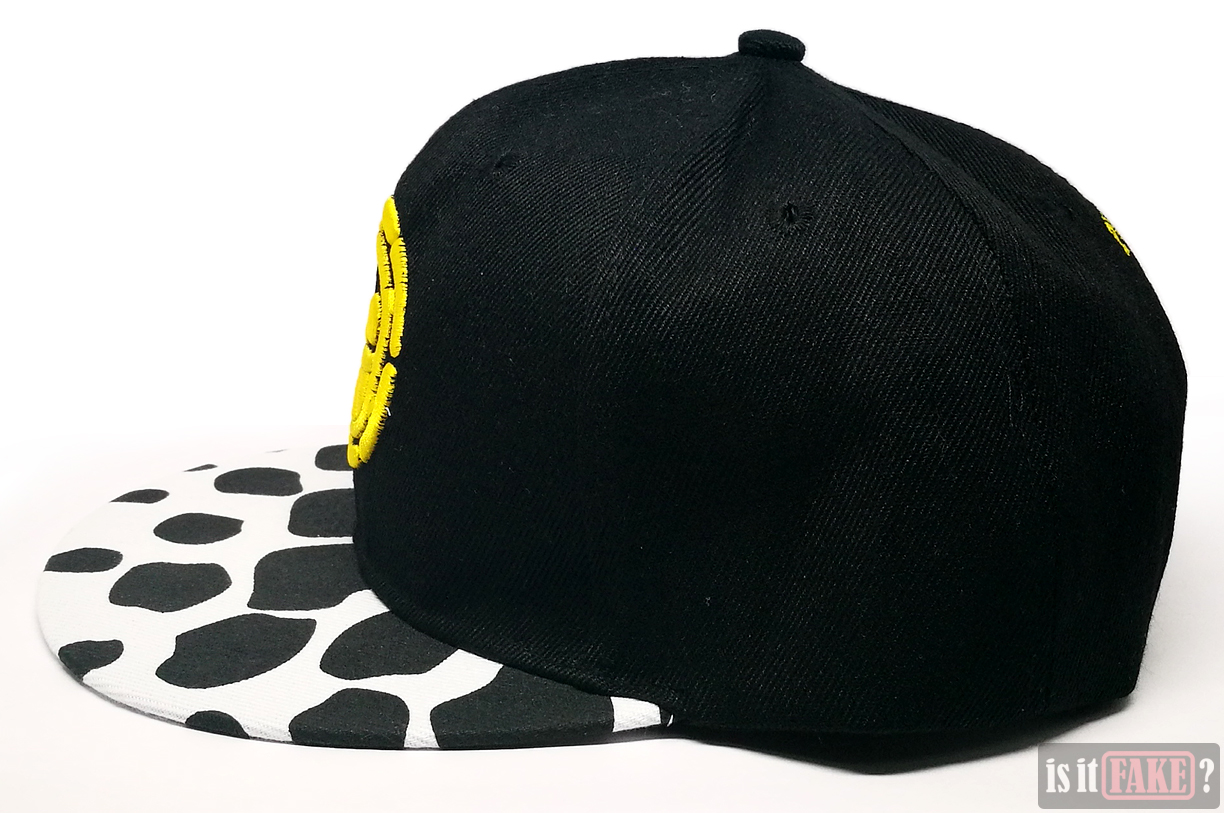 Fake One Piece sports cap side view