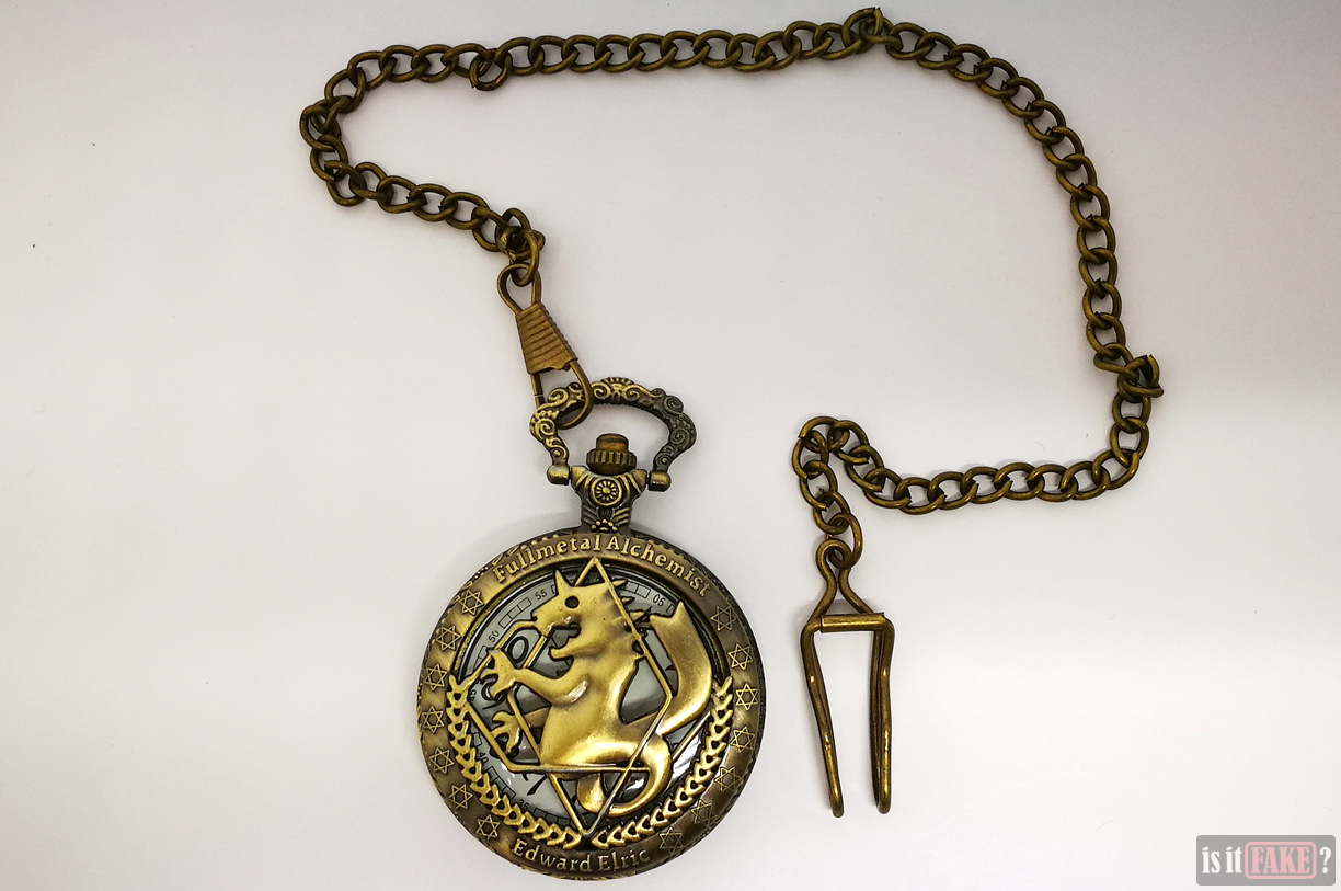 Fake Fullmetal Alchemist pocket watch