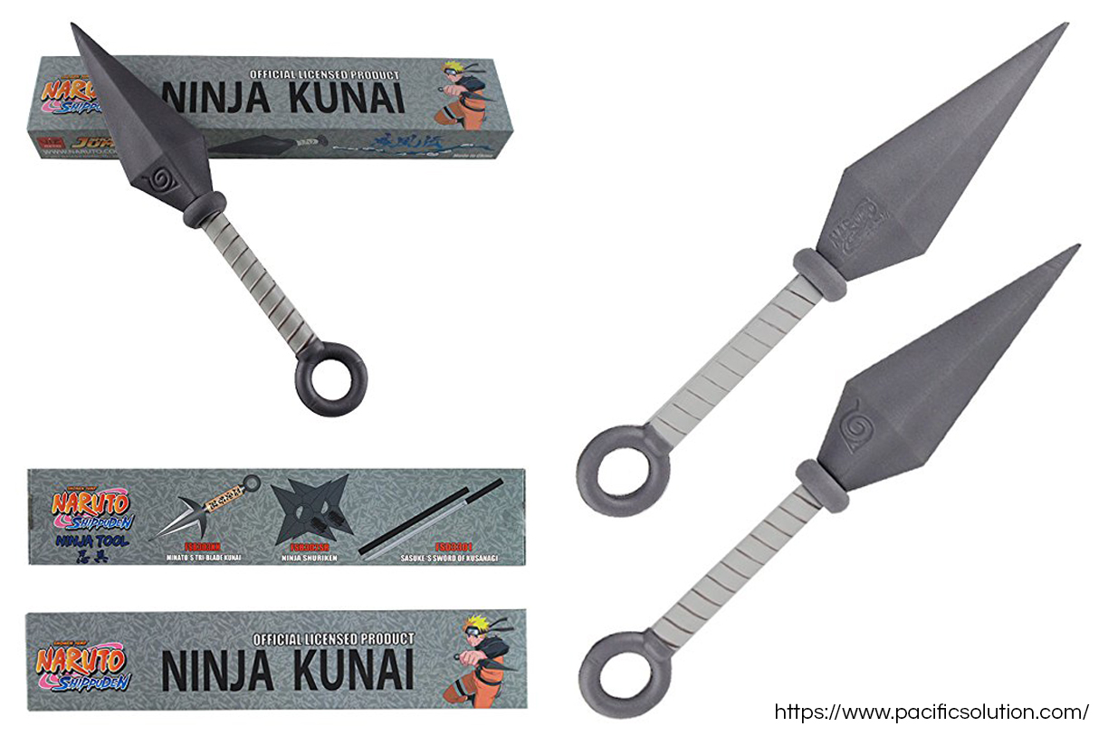 Official Naruto foam kunai from Pacific Solution