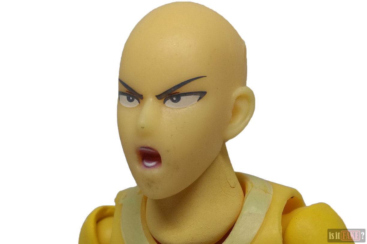 Fake Figma One Punch Man figure's extra head