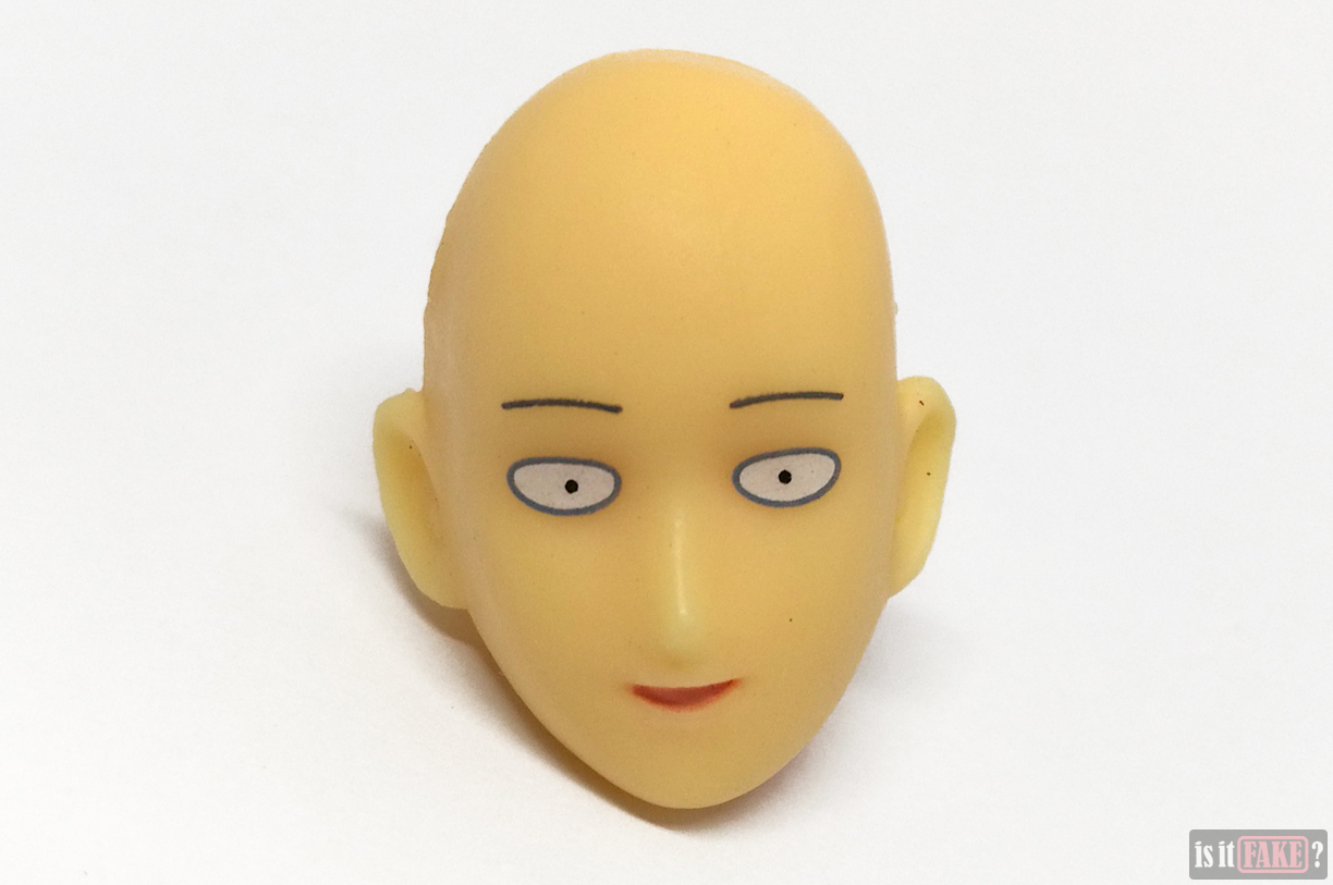 Fake Figma One Punch Man figure's default head, front