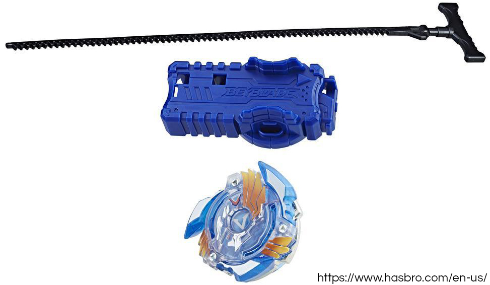 Official Beyblade Rip Fire Starter Pack Valtryek V2 on official Hasbro online store