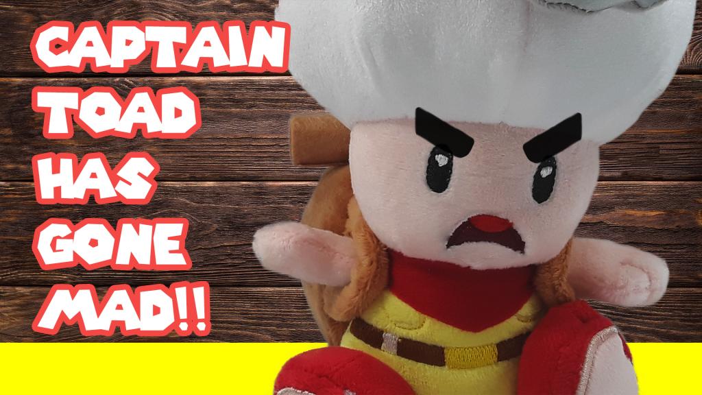 San Ei Super Mario Captain Toad Plush Is It Fake Com
