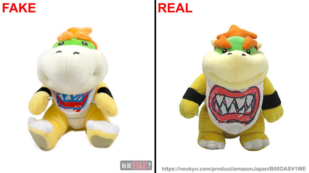 Is It Fake Com San Ei Super Mario Brothers Bowser Jr Plush