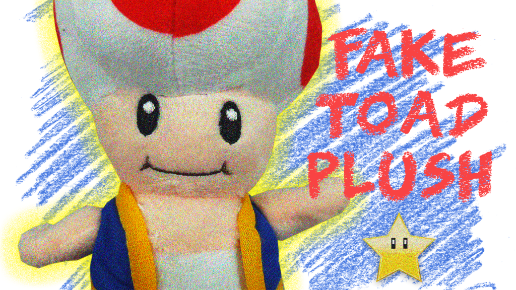 Japanese Plushies San Ei Super Mario All Star Collection Toad